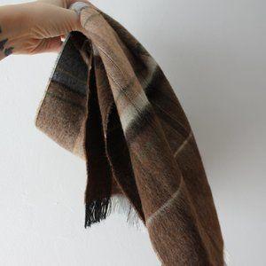 Brown Wool Scarf
